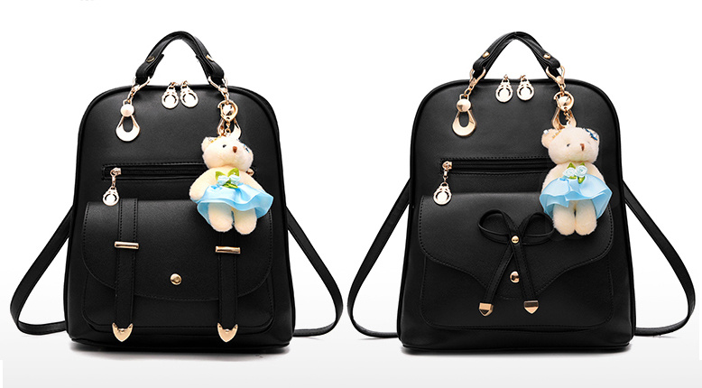 Fashion Style Multi-Function Travel Bag PU Backpack