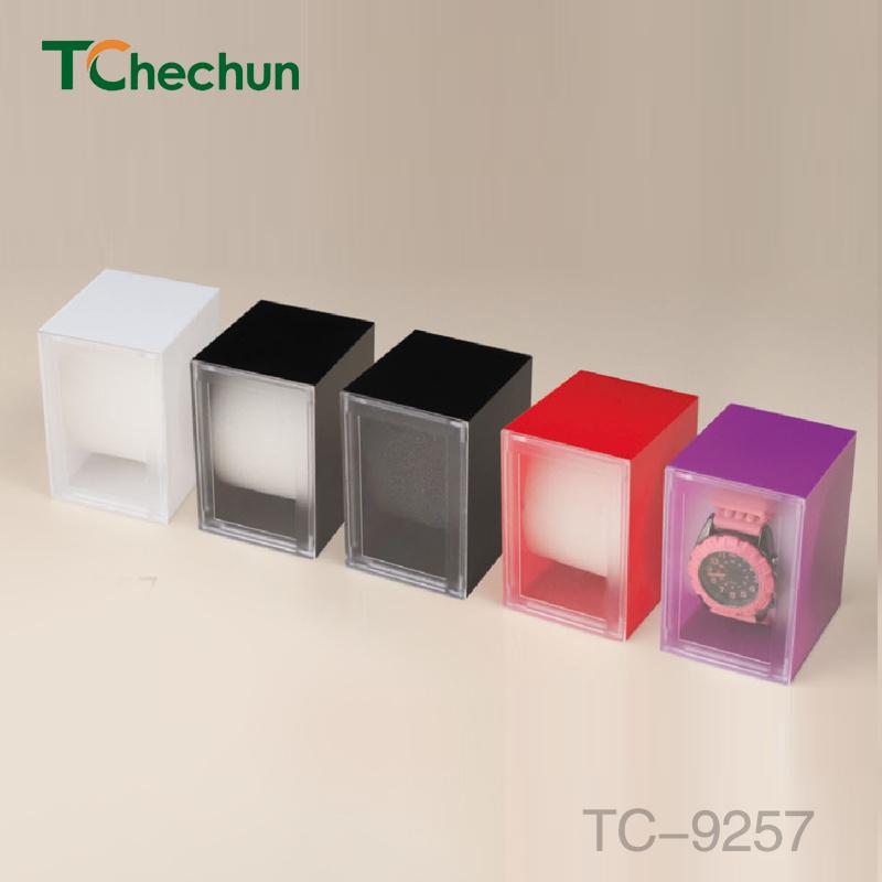Rectangular Shape Inner Cylindrical Sponge Plastic Box