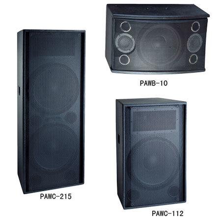 Wooden Speaker Box (PAWB-10, PAWC-112, PAWC-215)