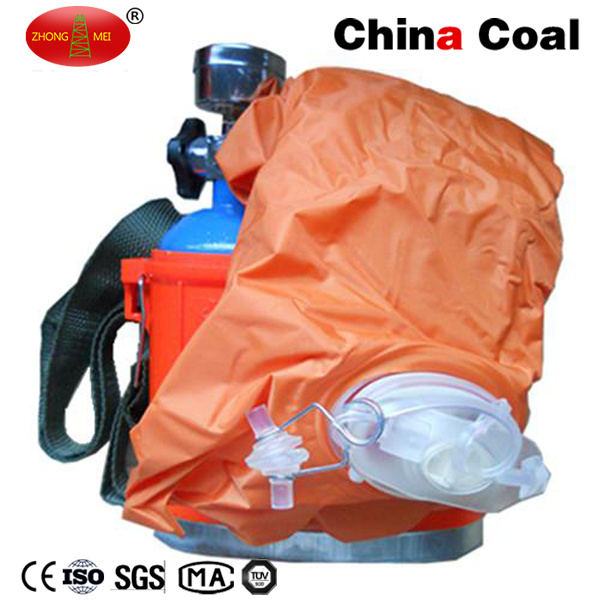 Portable Self-Contained Compressed Oxygen Self Rescuer for Coal Mine
