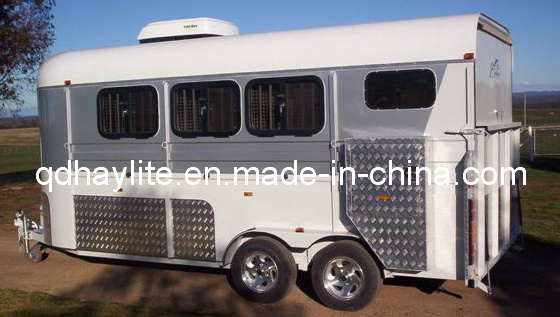 Angle Style Tripple Horse Float Trailer