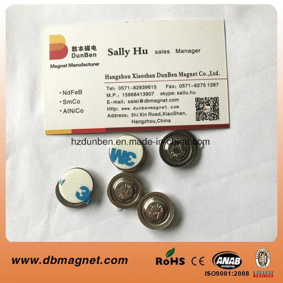 Name Tag Magnets NdFeB Magnetic Badge Fastener