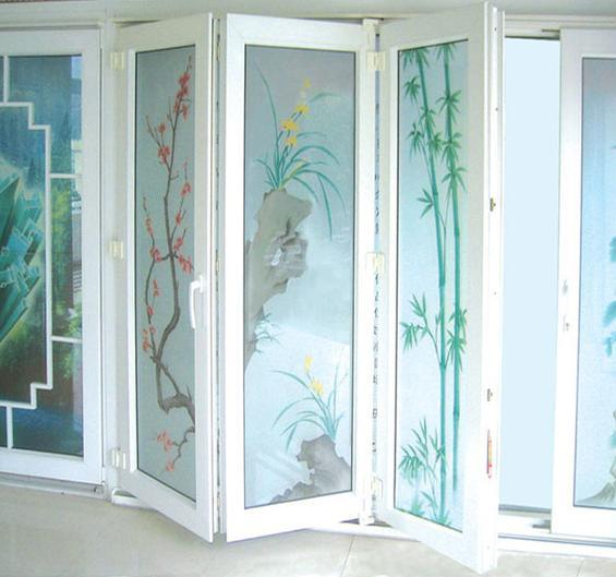 China upvc door folding door china upvc door upvc doors for Upvc folding doors