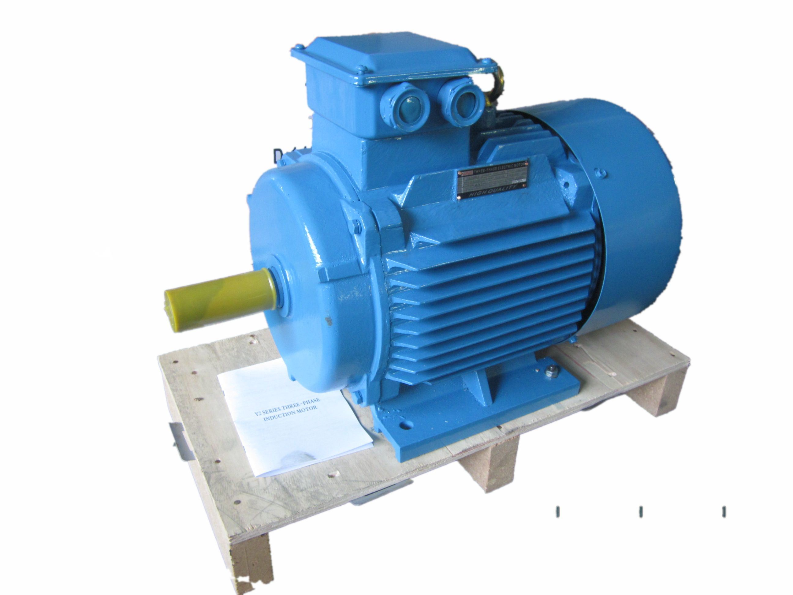 China y2 series three phase induction motor photos for Three phase induction motor
