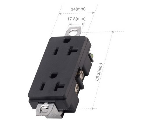 042052001 American with Protection of The Double Socket
