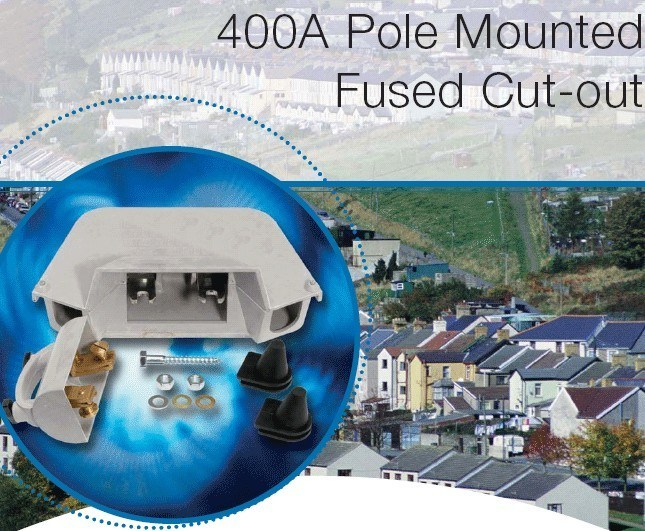 Low Voltage 400A Pole Mounted Fused Cut out