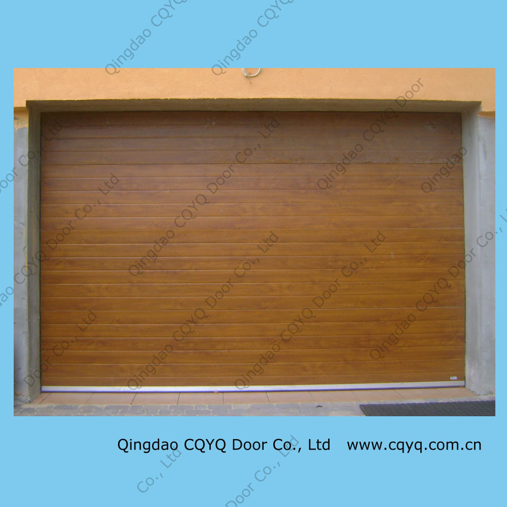 China Wooden Garage Door Wooden Door Wood Imitation Door