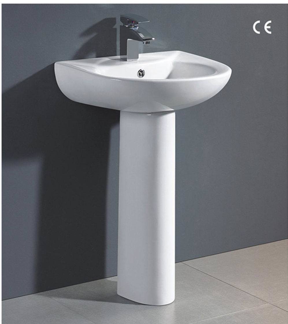 China Pedestal Ceramic Wash Basin HM BP 03