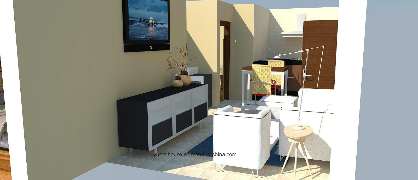Light Steel Prefabricated Small Villa House