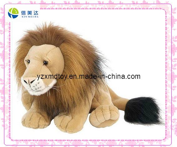 Lifelike Emulational Stuffed Lion Toy
