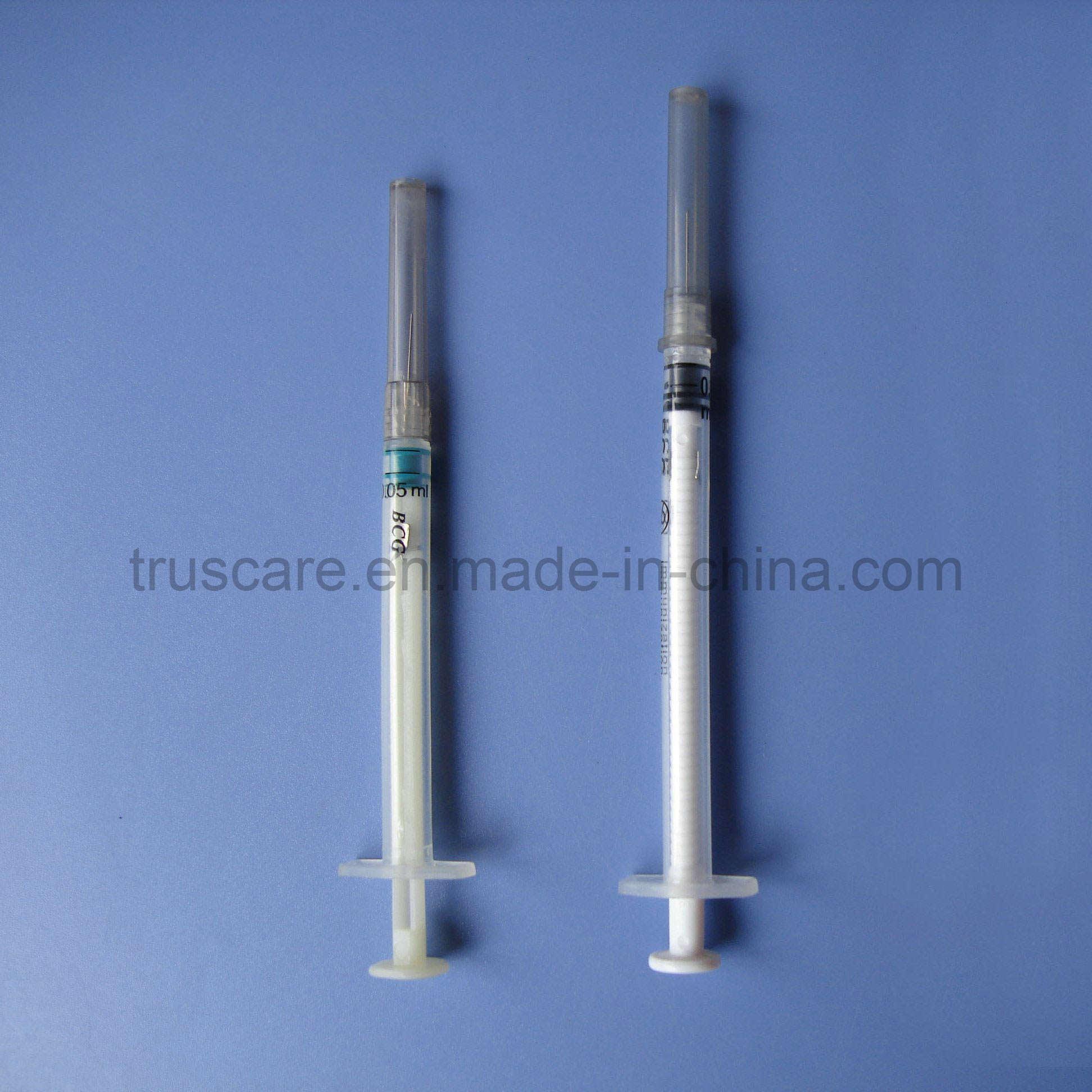 Vaccine Syringe (tuberculin syringe, BCG syringe)