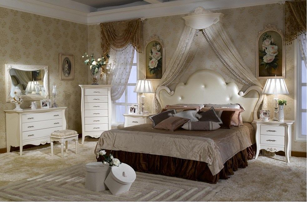 French Bedroom Furniture Sets On French Style Bedroom Set Furniture