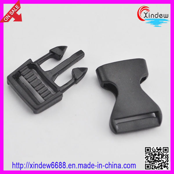 Black Plastic Schoolbag Buckle Bag Buckles (XDZY-001)
