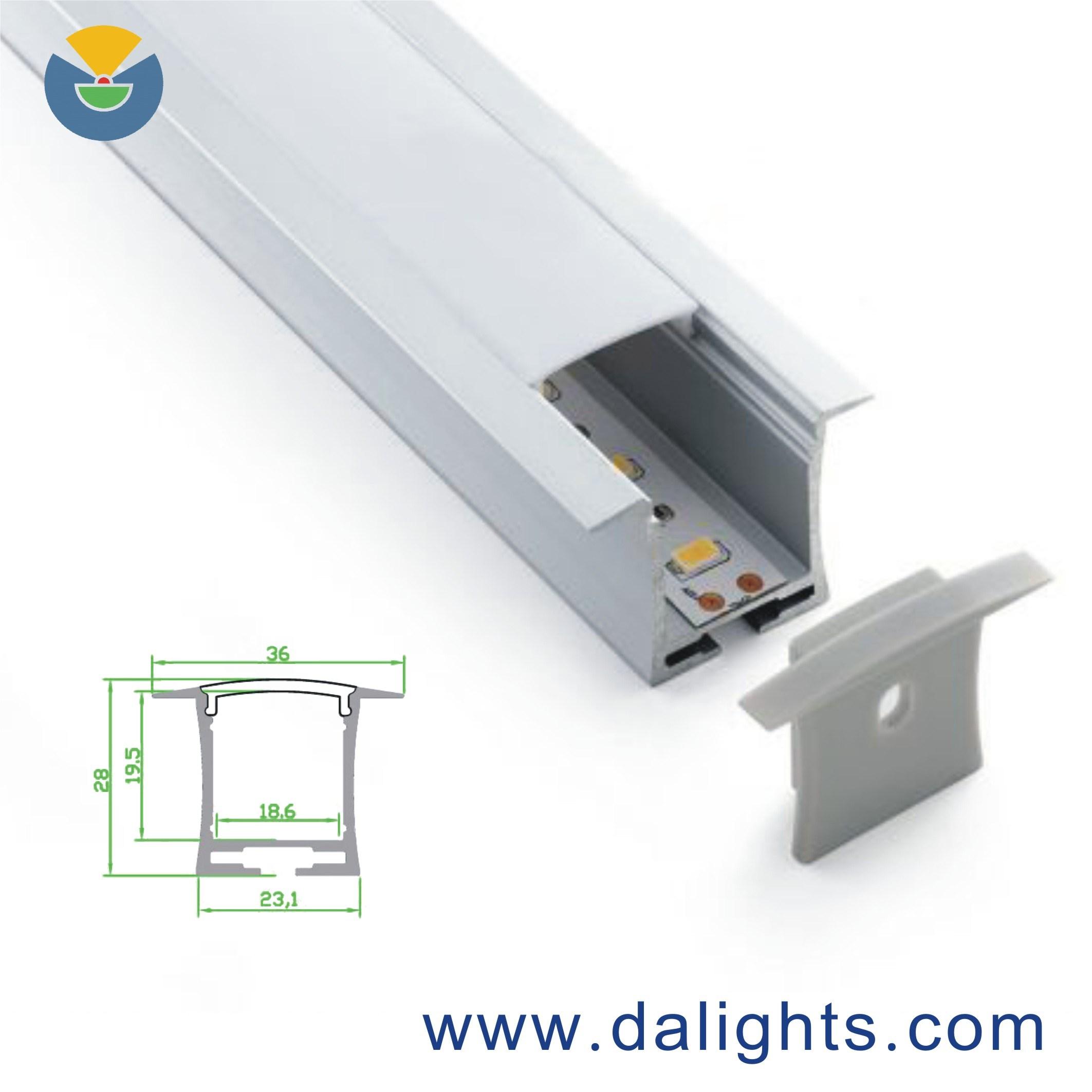 LED Aluminum Profile Dal3628