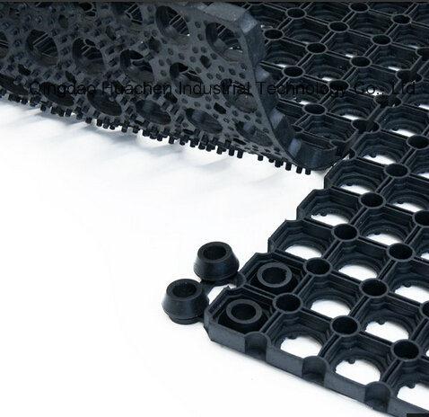 Best Grass Outdoor Oil Resistant Rubber Flooring