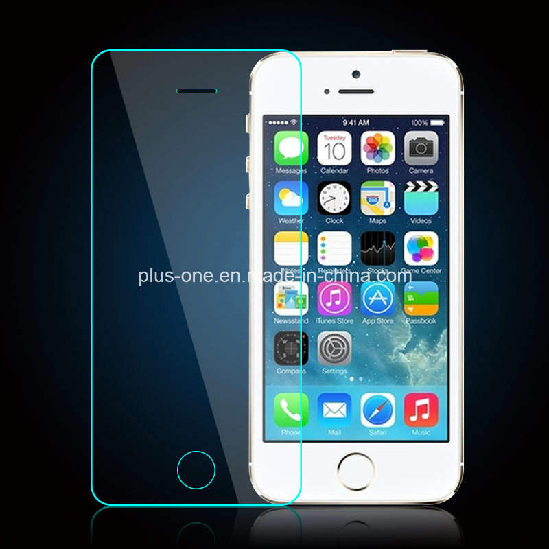 Factory Supply Tempered Glass Screen Protector for iPhone5/5s