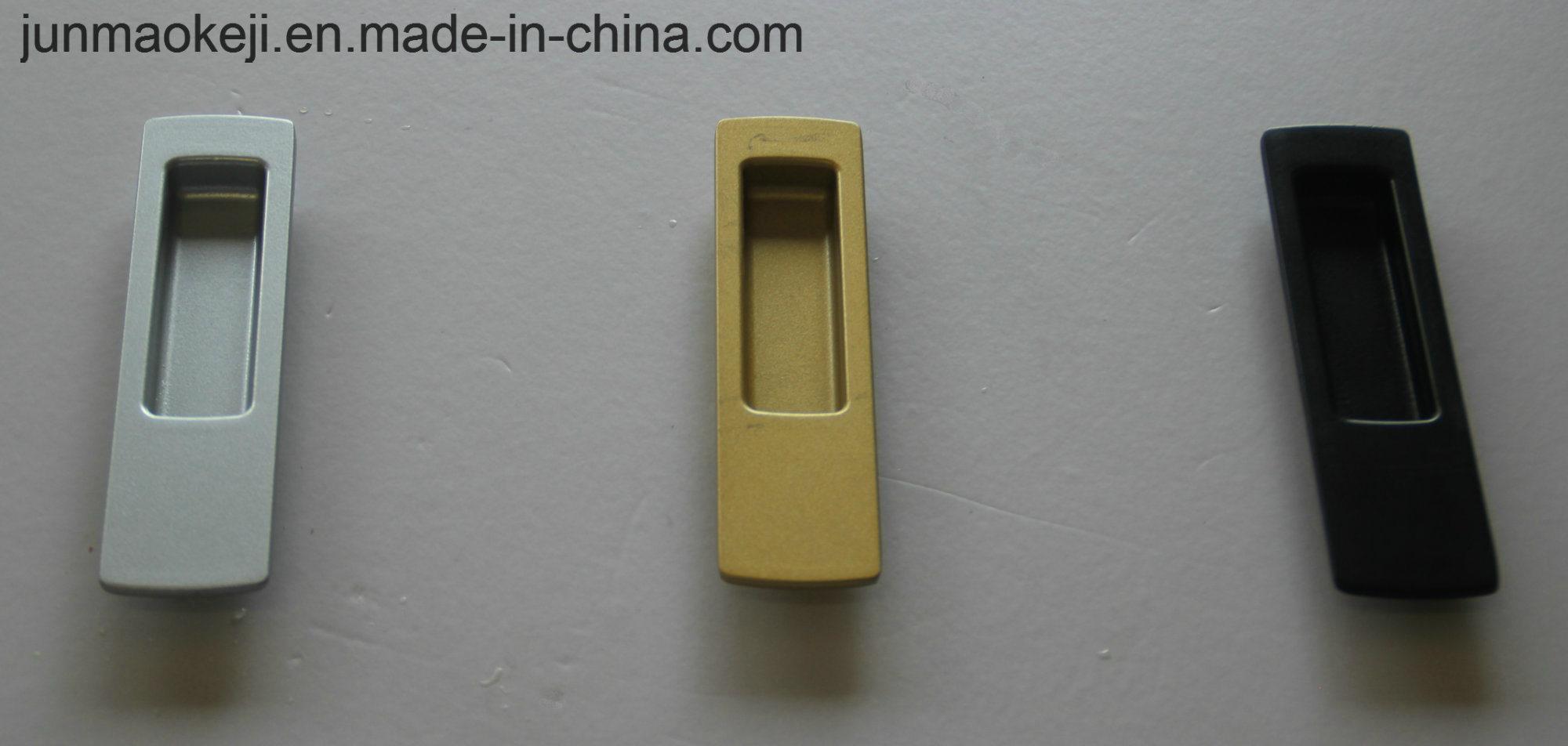Aluminum Concealed Furniture or Cabinet Handle, Door Handle