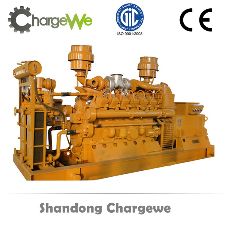 10-2500kVA Emergency Gas Generator with ISO Certificaton Open Silent Made in China