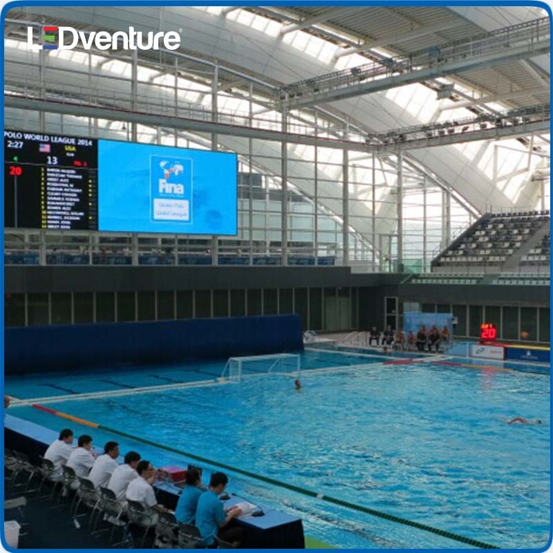 Outdoor Full Color Sport Stadium LED Video Wall