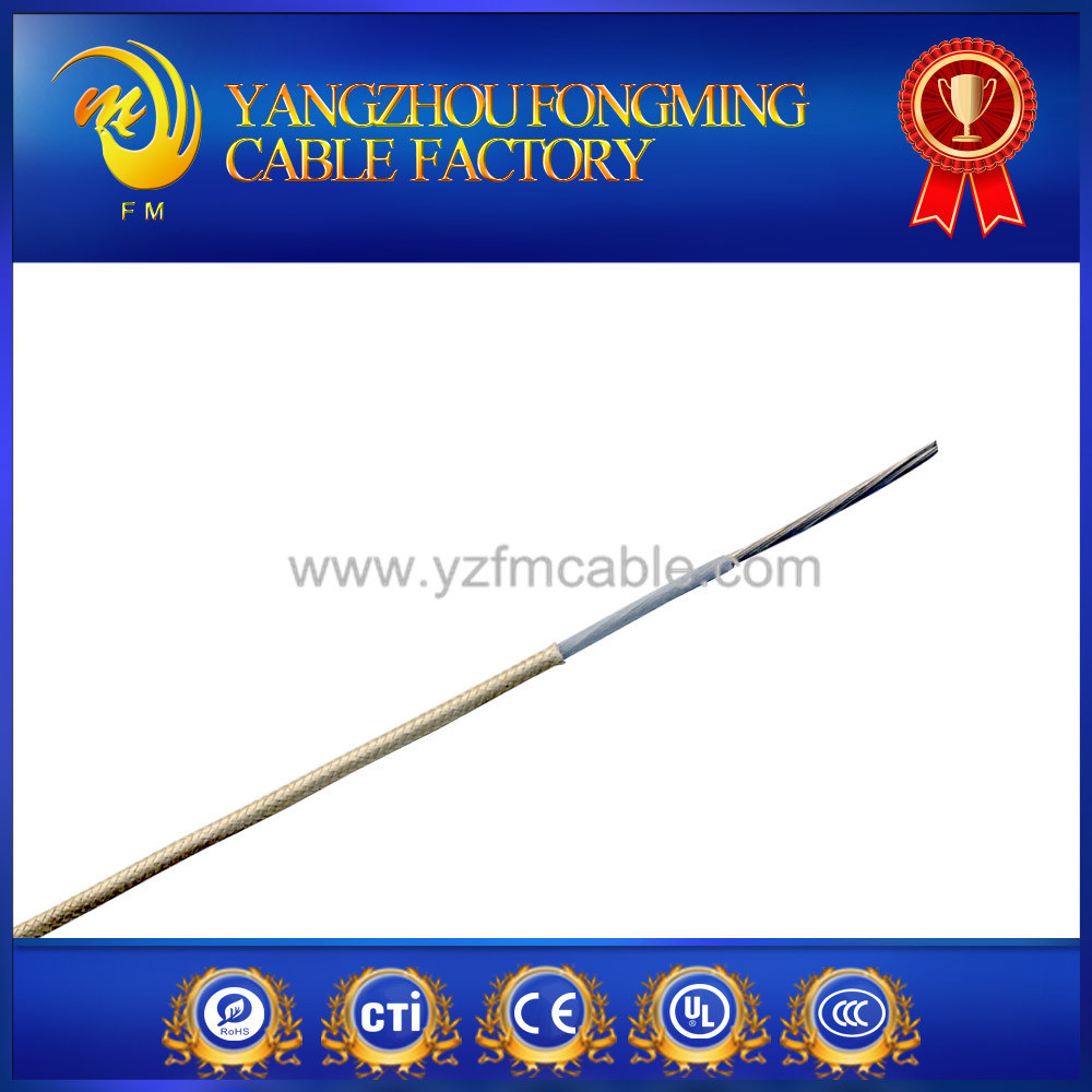 Heating Use Teflon Fire Resistance Braided Electric Wire