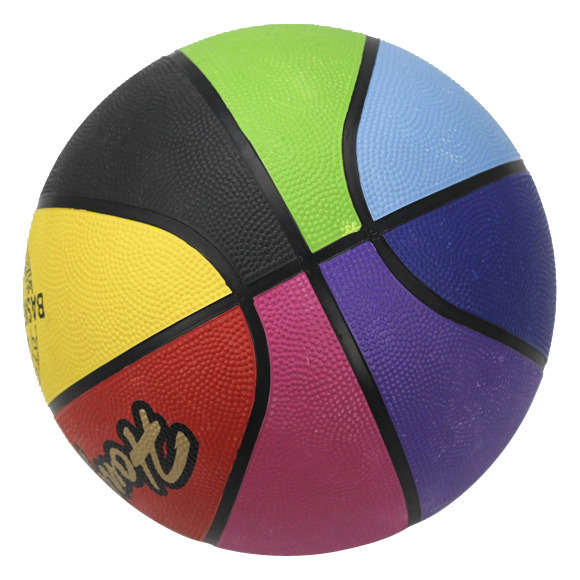Rubber Basketball Size: 1#2#3#4#5#6#7