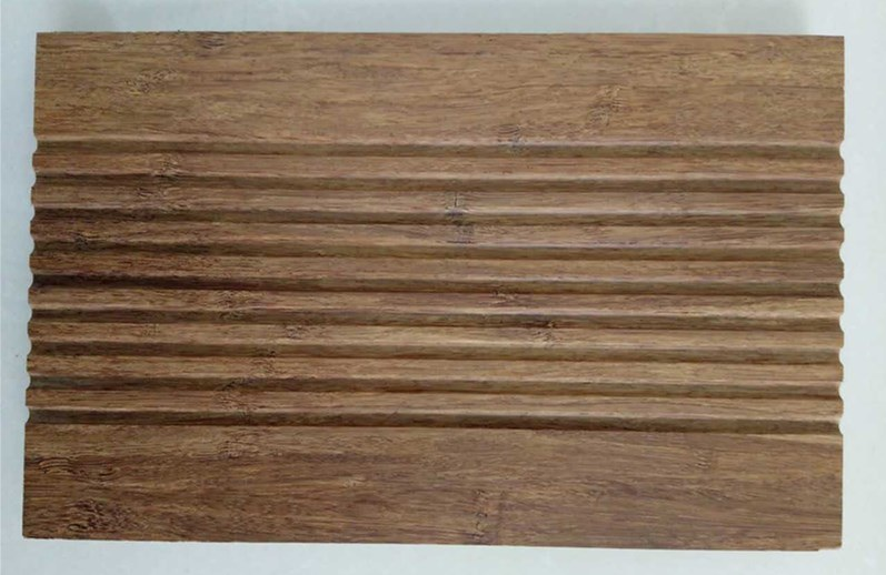 Carbonized Color Strand Woven Bamboo Bridge Panel