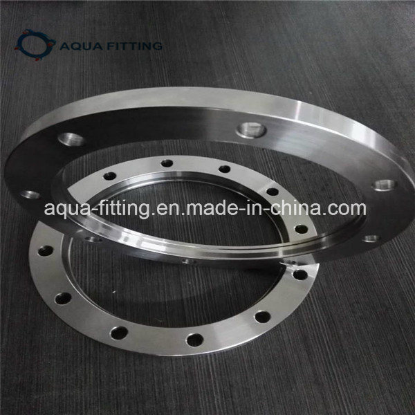 Stainless Steel Standard Flat Threaded Flange DIN2566 with ISO 9001