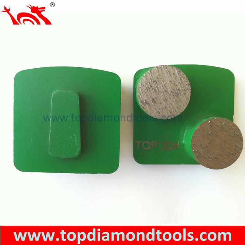 Diamond Trapezoid Grinding Plates for Concrete Floor Polishing