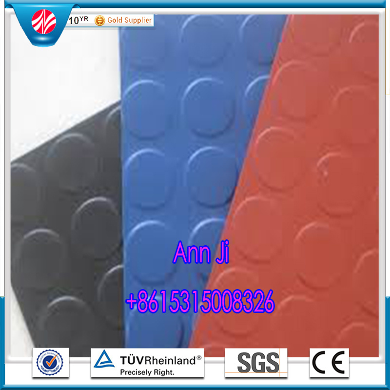 Anti-Slip Coin Flooring, Pattern Hospital Rubber Flooring
