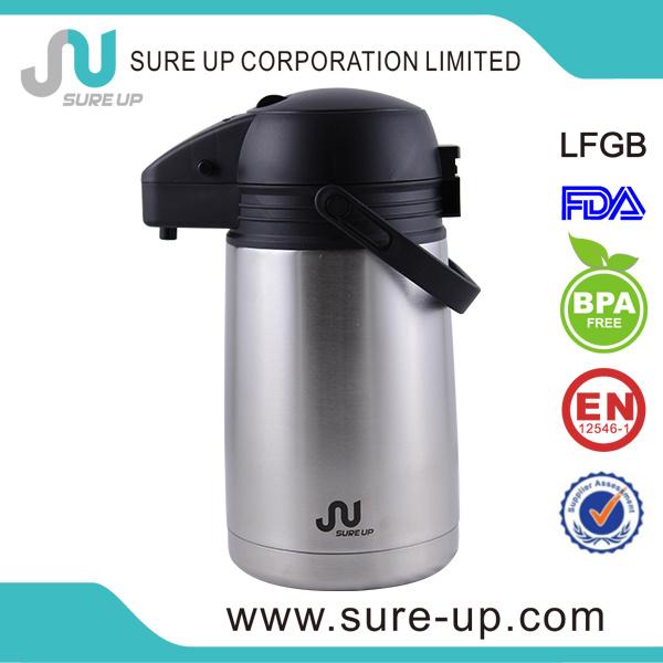 Paraguay Hot Sale 1.3L 1.6L, 1.9L Double Wall Stainless Steel Vacuum Flask Termos (ASUR)