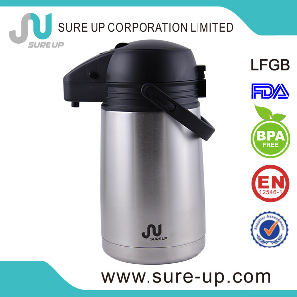 Travel Ss Stainless Steel Vacuum Coffee Pot (ASUR)