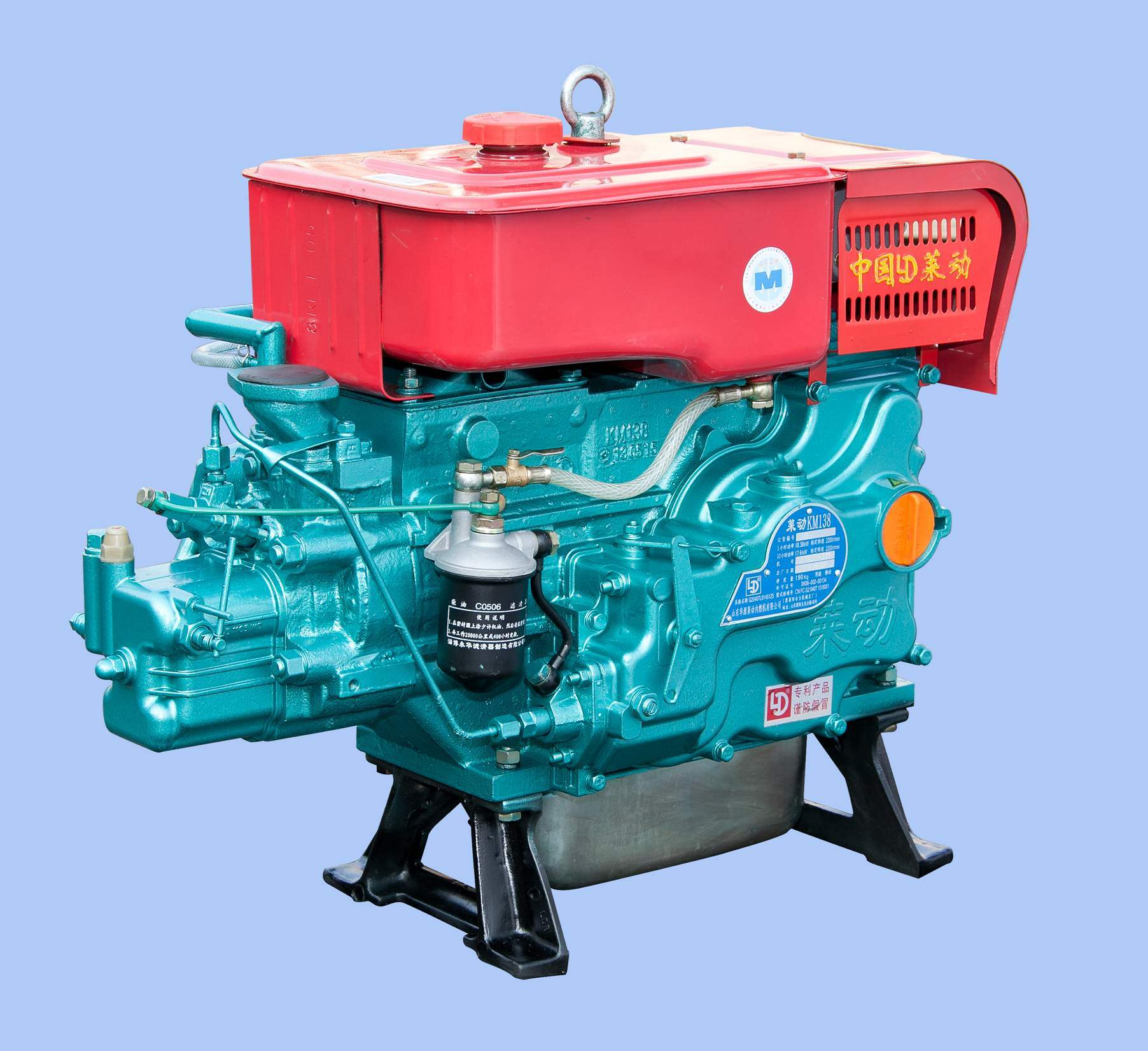 Laidong Single-Cylinder Diesel Engine (16HP-34HP)
