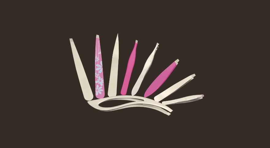 High Quality Beauty Tweezers by Kum for Eyebrow