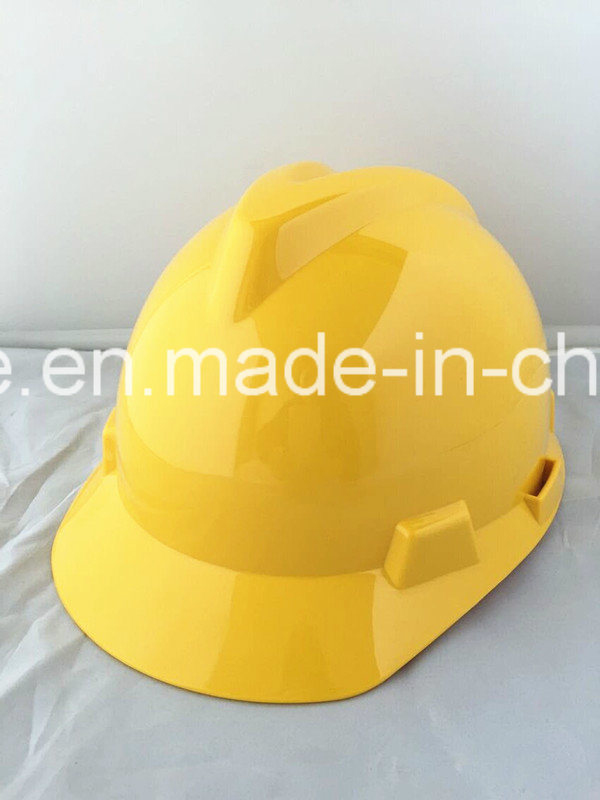 Safety Helmet Building Material HDPE Helmet with Ce