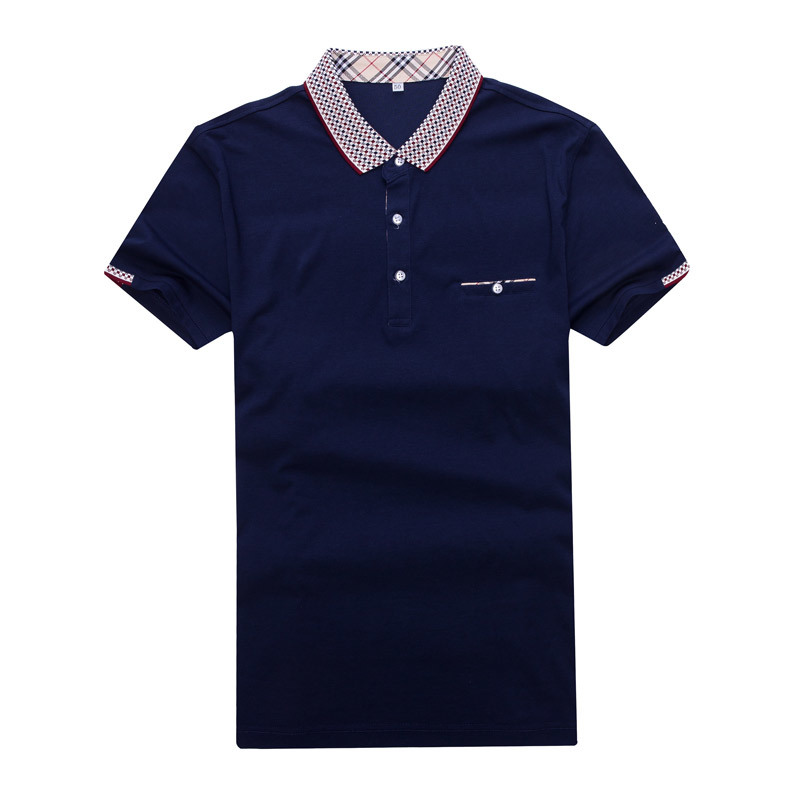 Men′s Polo Shirt Slim Shirt for Men Tee Tops