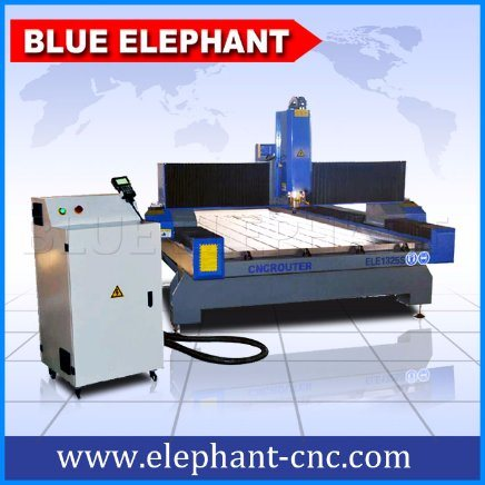 Ele 1325 Water Cooling CNC Stone Carving Machine Processing Marble Granite Stone