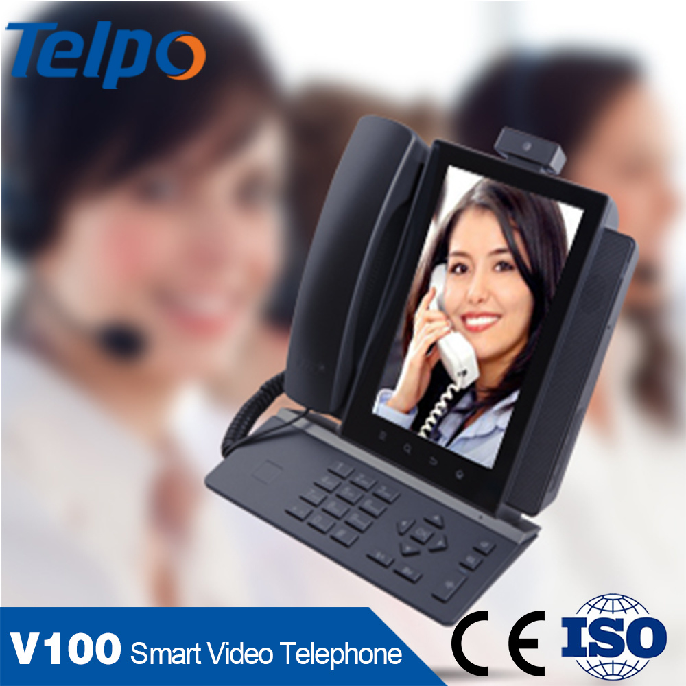 Import From China WiFi SIP Android Desktop Phone with Screen
