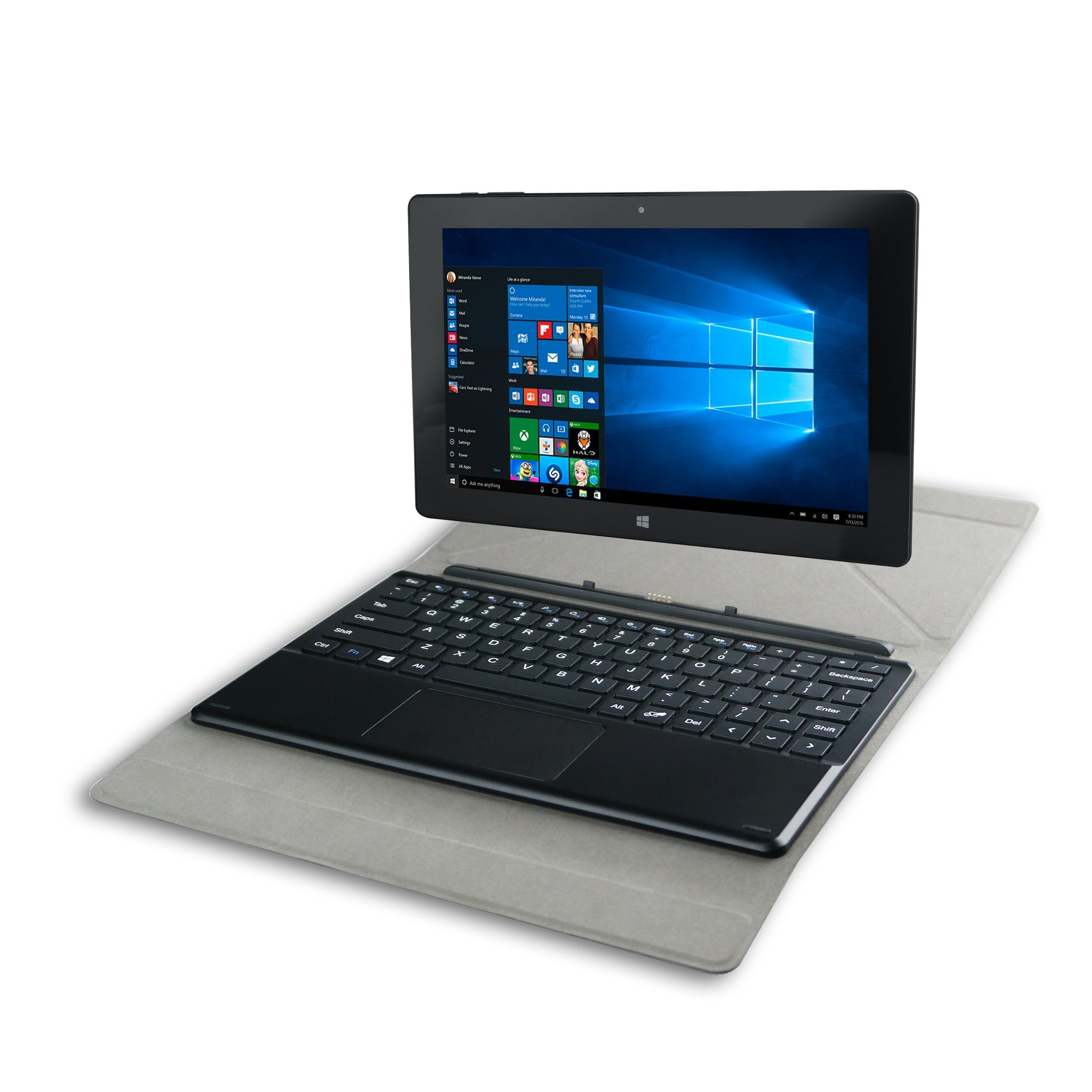 10.1 Inch IPS Quad Core 2GB+32GB Laptop Computer Notebook