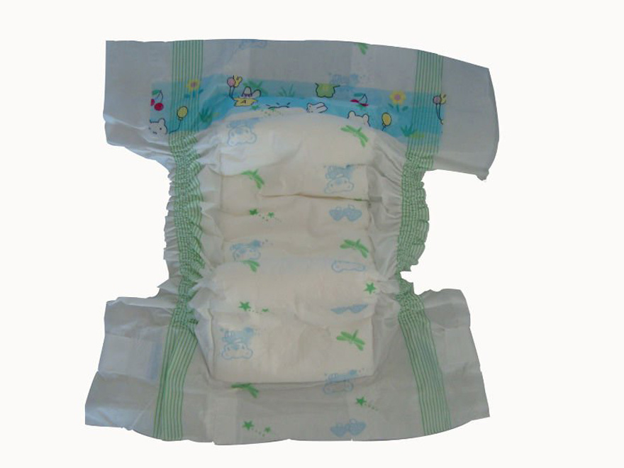 2016 New China Breathable Disposable Baby Diaper (happy baby diapers)