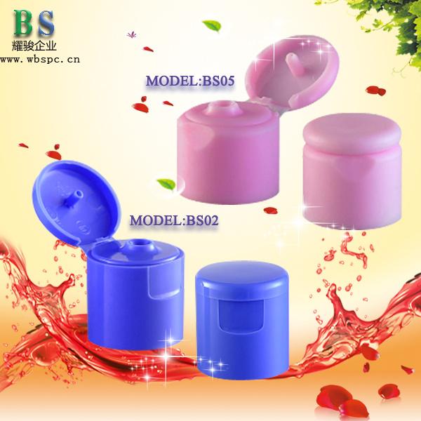 24/410 Shampoo Plastic Flip Top Cap