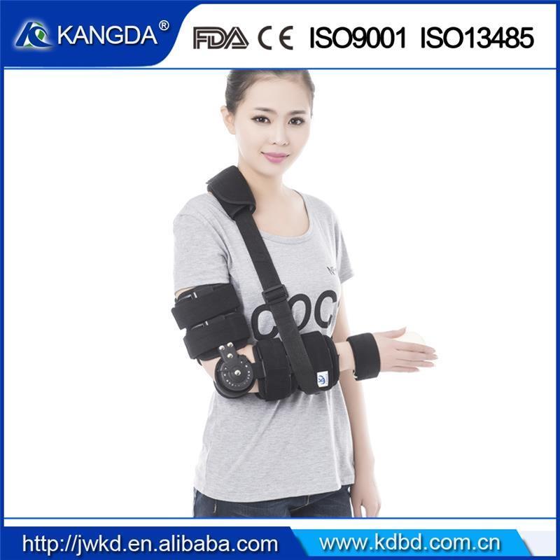 Free Angle Hinged Elbow Immoblizaiton Fixing Support Splint Brace Ce ISO FDA Manufacuturefob