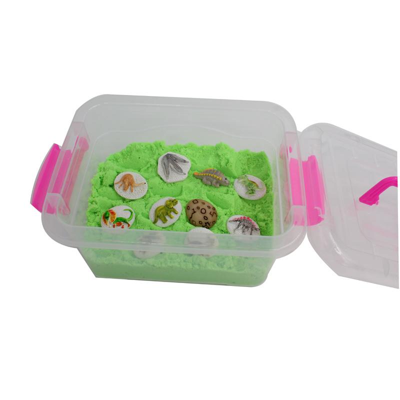 Innovitive Sensory Sand Kids Toy with Dinosaur Pieces (MQ-DDS01)