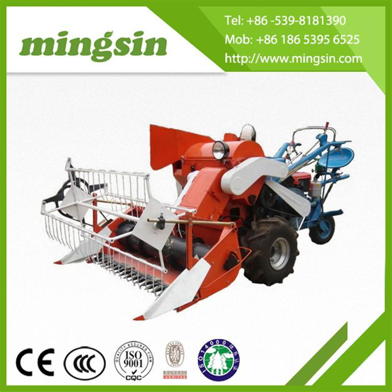 Small Rice and Wheat Combine Harvester 4lz-1.0 for Sale