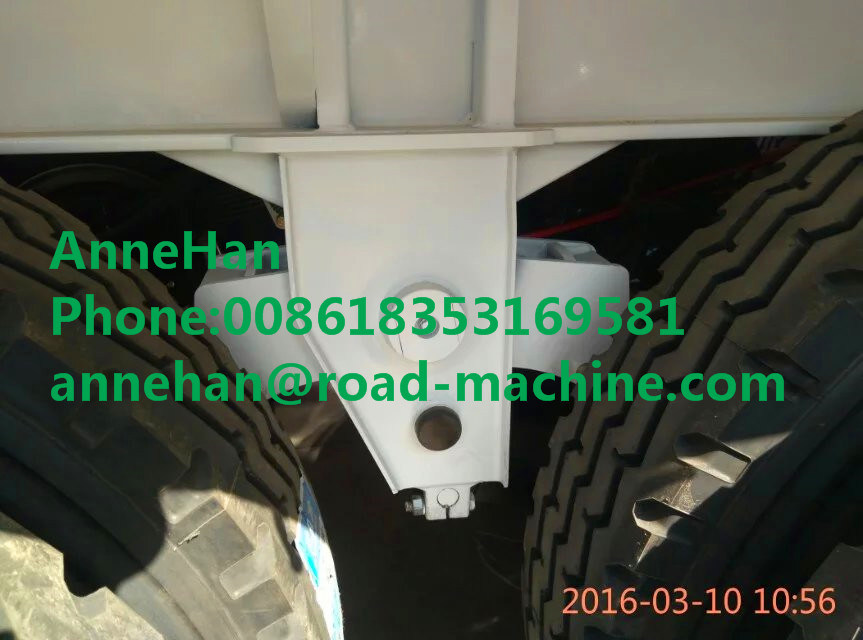 30000kg Shmc 3 Axles Double Function Container Semi Trailer