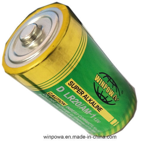 1.5V Alkaline Cylinder D Size Battery