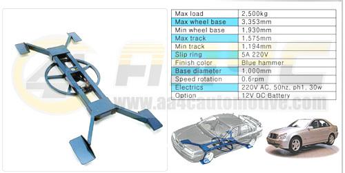 Simple Design Car Turntable