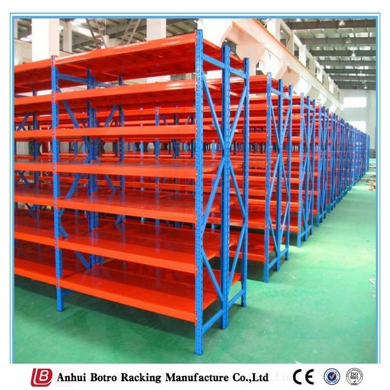 Long Span Galvanized Steel Decking Storage Shelving Distributor