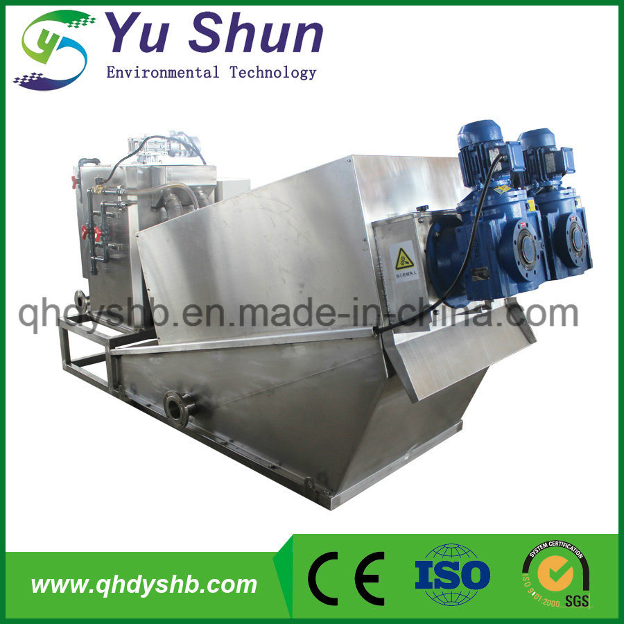 Screw Press Machine and Printing Plant Sewage Treatment Better Than Belt Filter Press