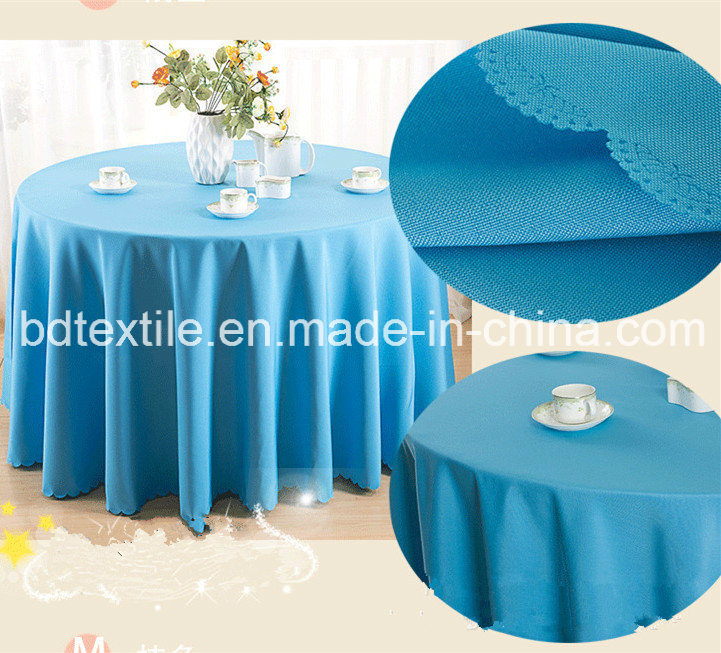 Wide Width Table Cloth Fabric 160GSM 300cm for Hotel, Restaurant