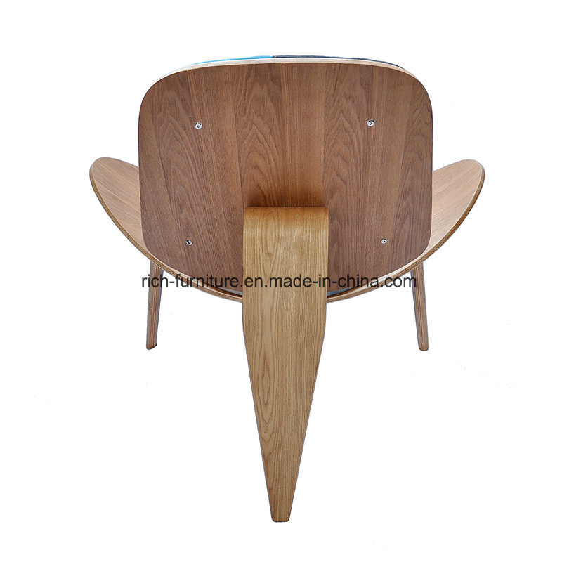 Replica Three- Leg Bent Plywood Hans Wegner Shell Chair